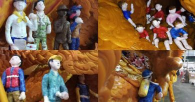 cave rescue wax candle carving