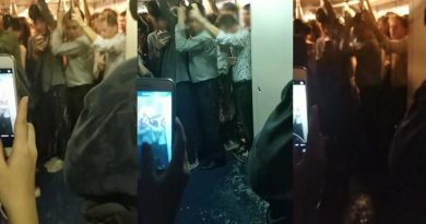 BTS train flooded