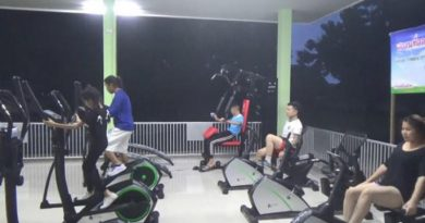 Chiang Mai cemetary gym