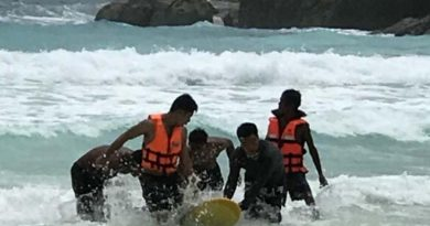 Chinese tourist drowns Koh Racha