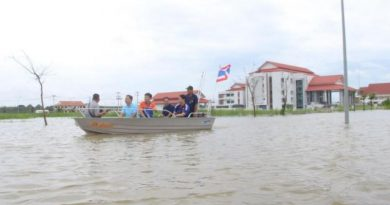 Floods in Bueng Kan province