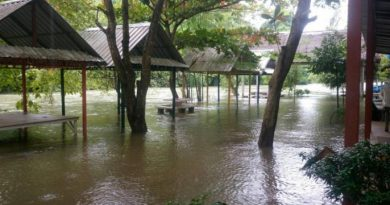 Floods in Phetchaburi