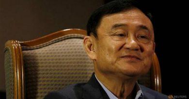 Former prime minister Thaksin Shinawatra