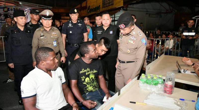 Illegal foreigners arrested