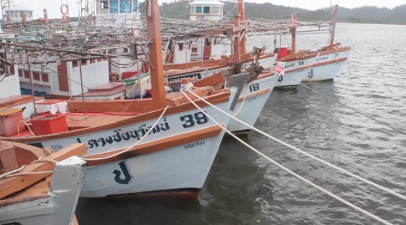 Phang Nga fishing boats