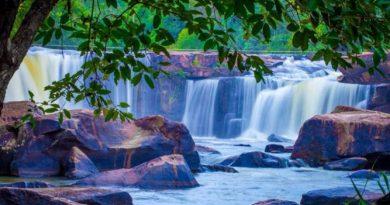 Tat Ton waterfall Chaiyaphum province