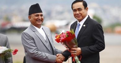 Thai Prime Minister Prayut in Nepal for Bimstec summit