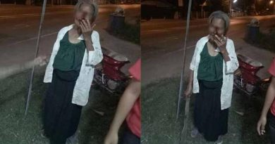 elderly woman beaten