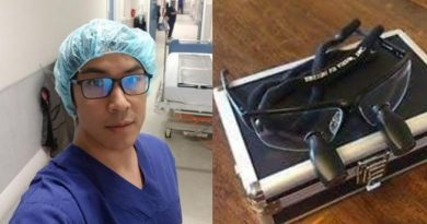 heart surgeon's eyeglasses