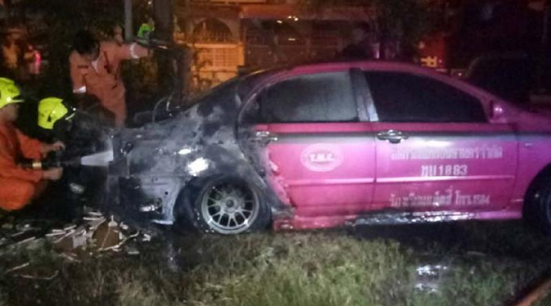 taxi gas tank explodes