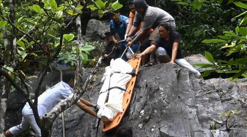 Chinese woman murdered waterfall Hat Yai
