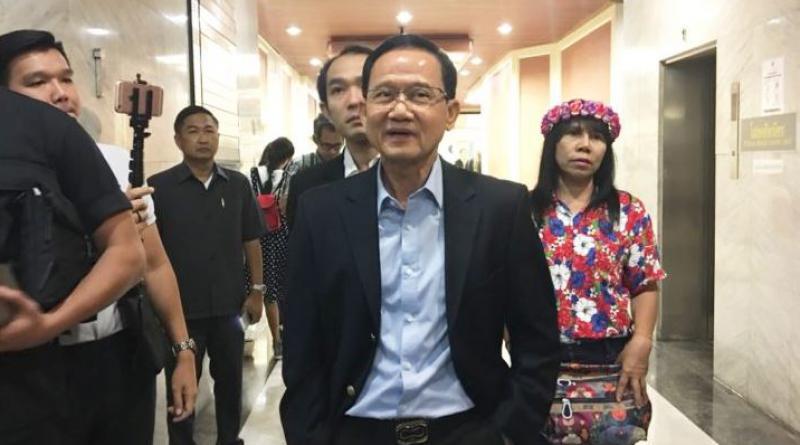 Former prime minister Somchai