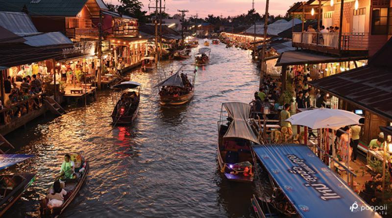 Maeklong, Samut Songkram