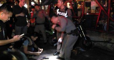 Pattaya gun duel