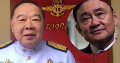Prawit on Thaksin
