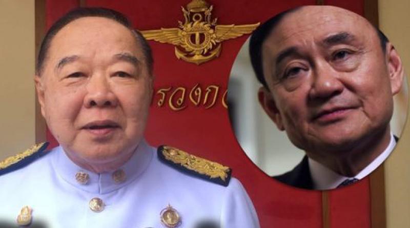 Prawit on Thaksin