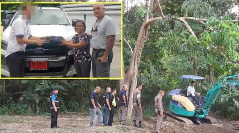 Searching for bodies of Briton and Thai wife in Phrae