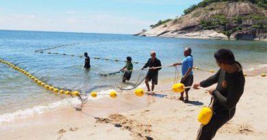 Shark nets Hua Hin