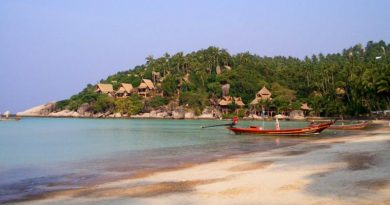 Siree beach on Koh Tao