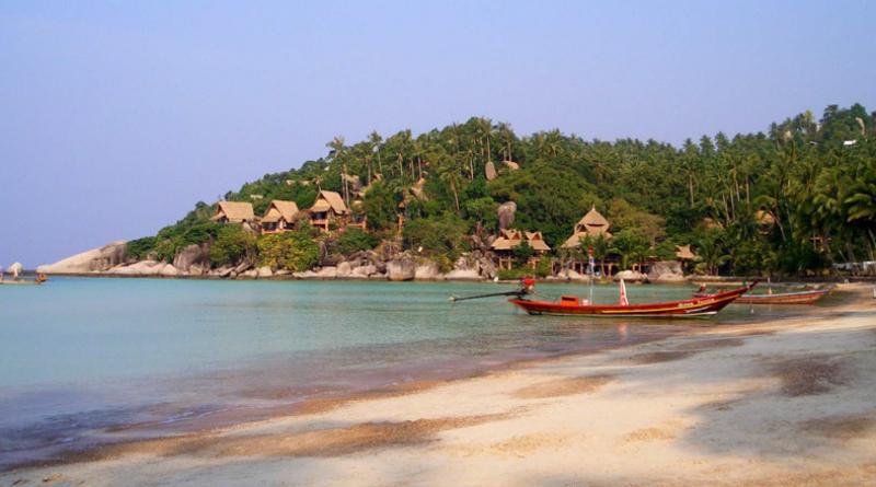 Siree beach on Koh Tao