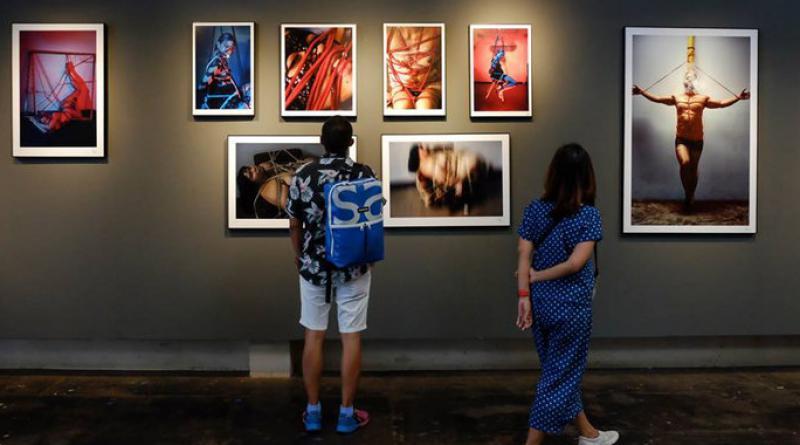 YELO House art gallery