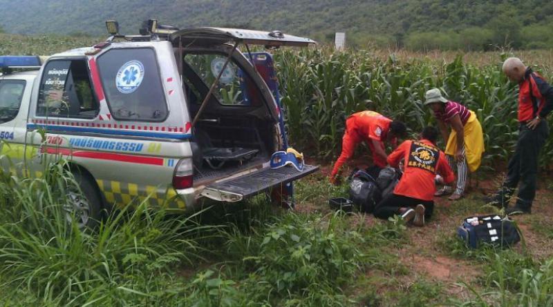 paraglider injured