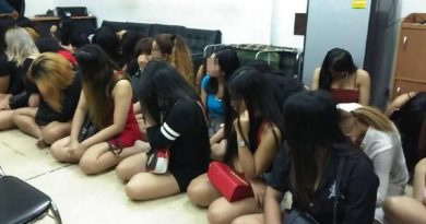 prostitution crackdown Pattaya