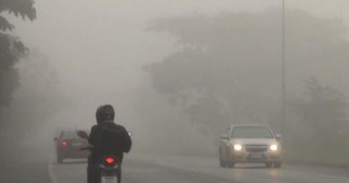 Cool misty in Lampang
