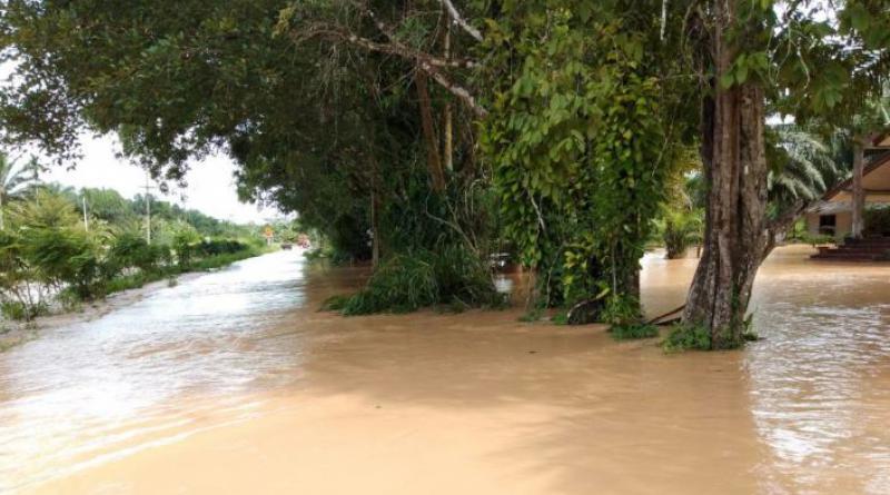 Krabi flooded