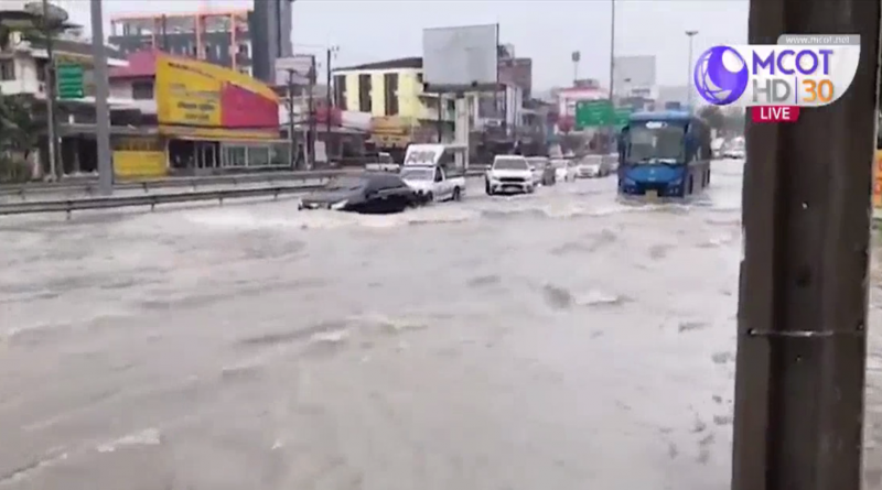 Pattaya floods