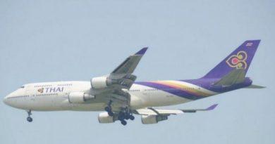 Thai Airways jetliner