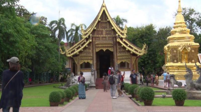 Tourists in Chiang Mai