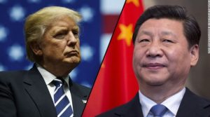 US President Trump and Chinese leader Xi Jinping