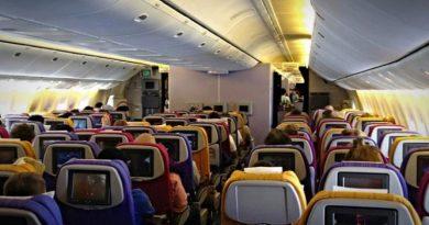 airline passenger cabin