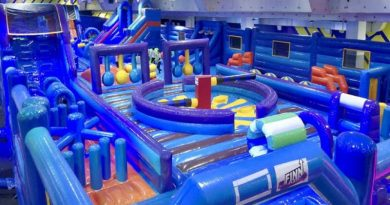 inflatable park in Korat