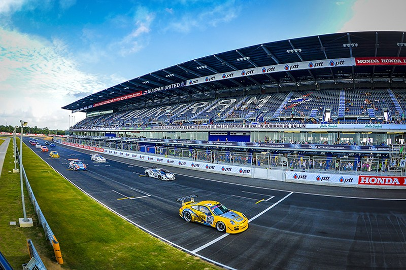 Car Racing at Buriram International Circuit (BRIC), Buri Ram