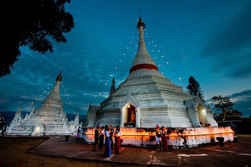 Phrathat Doi Kong Mu Temple, Mae Hong Son *** Local Caption *** วัดพระธาตุดอยกองมู จังหวัดแม่ฮ่องสอน