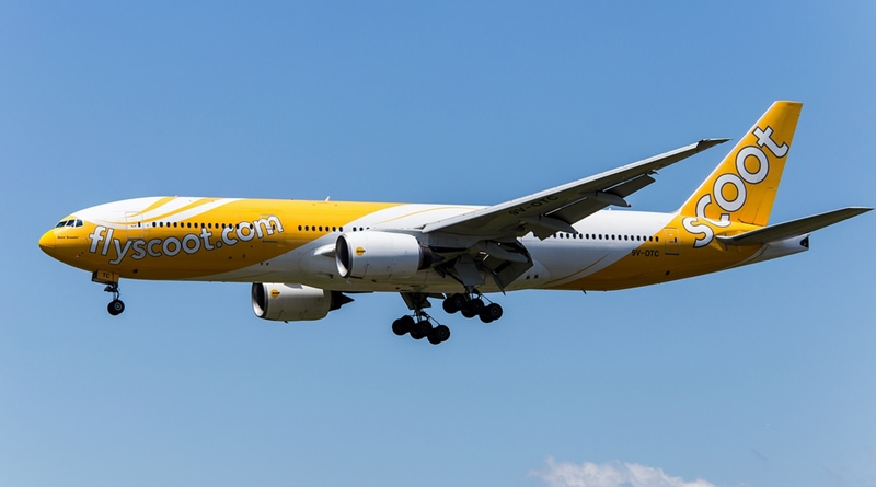 "Singapore airlines ""Scoot"""