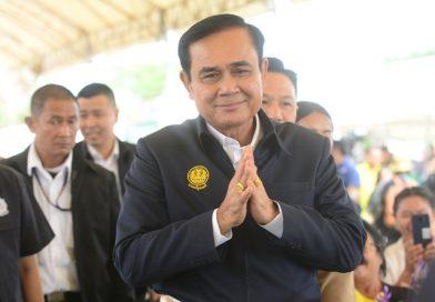 Gen. Prayut Chan-o-cha, Junta leader turned politician.