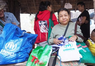 Third group of Myanmar refugees return home from Thailand with UNHCR support