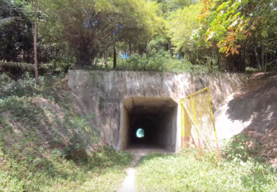 100 meter tunnel with the unknown owner – Koh Samui