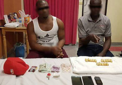 Kenyan arrested for bringing Cocaine into Thailand.