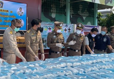 Police seize nearly 800,000 illegal facemasks