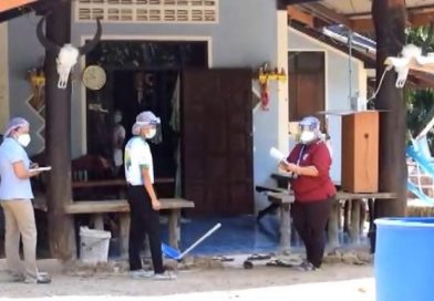 Family with Covid-19, hundreds now in high-risk, Krabi