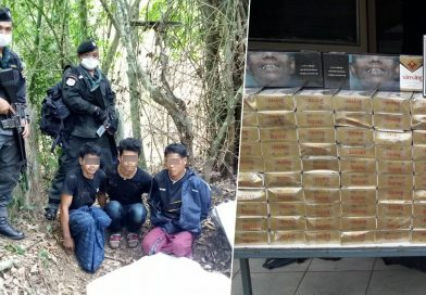 Smuggled cigarettes worth 2.6m baht seized in Prachuab Khiri Khan