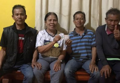 Lottery winners in Thailand today.