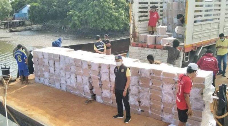 Illegal cigarettes seized worth 30 M THB.