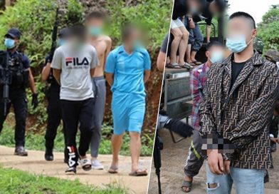 Chinese call center gang arrested in Mae Hong Son.